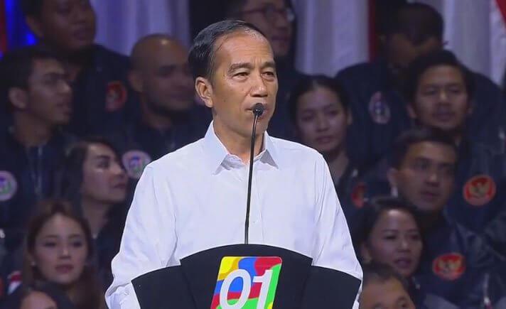 Alasan Jokowi Memilih Gunakan Baju Putih saat Kampanye